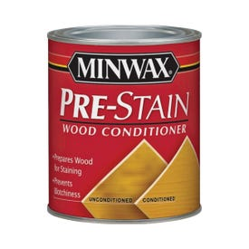 Minwax 13407 Pre-Stain Wood Conditioner, Clear, Liquid, 0.5 pt, Can