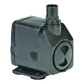 Little Giant 566716 Magnetic Drive Pump, 0.23 A, 115 V, 1/2 x 5/8 in Connection, 1 ft Max Head, 130 gph