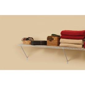 ClosetMaid 1041 Shelf Kit, 48 in L, 12 in W, Steel, White