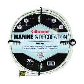 Gilmour 884251-1001 Safe Hose, 1/2 in ID, 25 ft L, White