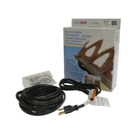 EasyHeat ADKS Series ADKS400 Roof and Gutter De-Icing Cable, 80 ft L, 120 V, 400 W