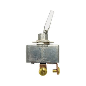 CALTERM 41770 Toggle Switch, 35 A, 12 VDC, Screw Terminal, Chrome Housing Material