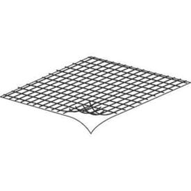 Make-2-Fit P 8095 Screen Repair Kit, 3 in L, 3 in W, Fiberglass, Gray