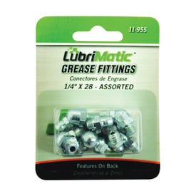 LubriMatic 11-955 Grease Fitting Assortment, 1/4-28