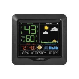 La Crosse S85814 Wireless Color Forecast Station,-40 to 140 deg F, 19 to 97 % Humidity Range, Digital Display
