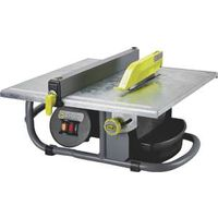 M-D 48190 Tile Saw, 120 V, 3.5 A, 7 in Dia Blade, 13 x 14-3/4 in Work Table