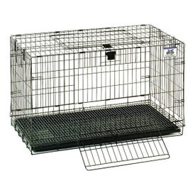 Pet Lodge 150910 Rabbit Cage, 17 in W, 31 in D, 20 in H, Metal/Plastic