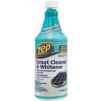 Zep ZU104632 Grout Cleaner and Whitener, 1 qt, Liquid, Characteristic, Light Yellow