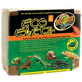 ZOO MED Eco Earth EE-20 Coconut Fiber Substrate Pack