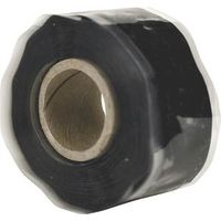 HARBOR PRODUCTS RT1000201201USC01 Self-Fusing Pipe Repair Tape, 12 ft L, 1 in W, 13/64 in Thick, Black