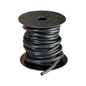 Thermoid 334050 Vacuum Tubing, 50 ft L, EPDM Rubber, Black