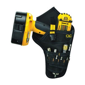 CLC Tool Works 5023 Drill Holster, Polyester, Black, 1.8 in W, 12-1/2 in H