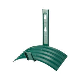 Landscapers Select GB-5227-3L Hose Hanger, 60 ft Capacity, Metal, Matte Green, Powder-Coated, Wall Mounting