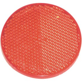 US Hardware RV-657C Safety Reflector, Red Reflector, Plastic Reflector, Adhesive Mounting