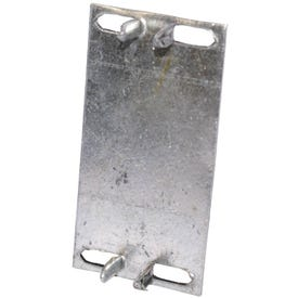 MiTek KNS Series KNS1 Protection Plate, 3 in L, 1-1/2 in W, 1/16 in Thick, Aluminum