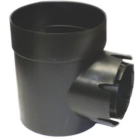 NDS 101 Catch Basin, Single Outlet, Round, Plastic