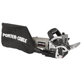 PORTER-CABLE 557 Plate Joiner Kit, 120 VAC, 20 in D Cutting, FF, #0, #10, #20, Simplex, Duplex, #6 Max Biscuit
