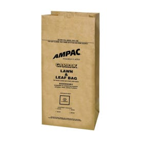 Ampac WGBPL-16, Biodegradable Lawn and Leaf Bag, 30 gal Capacity, 5 Pack