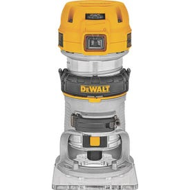 DeWALT DWP611 Compact Router with LED, 120 V, 7 A, 16,000 to 27,000 rpm No Load