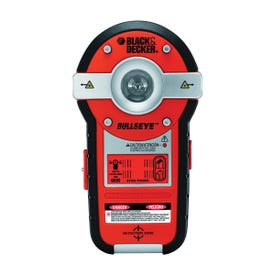 Black+Decker Bulls Eye BDL190S Auto Leveling Laser with Stud Sensor, 100 ft, 1-1/8 in Accuracy, 2 -Beam