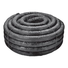 HANCOR 04730100BS Single Wall Pipe, HDPE, 100 ft L