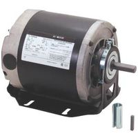 Century GF2024 Electric Motor, 0.25 hp, 1 -Phase, 115 V, 1/2 in Dia x 1-1/2 in L Shaft, Sleeve Bearing