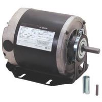 Century GF2054 Electric Motor, 0.5 hp, 1 -Phase, 115 V, 1/2 in Dia x 1-1/2 in L Shaft, Sleeve Bearing