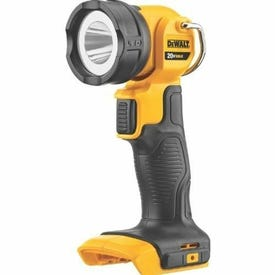 DeWALT DCL040 Rechargeable Flashlight, Lithium-Ion Battery, LED Lamp, 110 Lumens, 11 to 25 hr Run Time