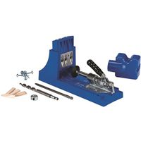 Kreg K4 Pocket-Hole Jig, 3 -Guide Hole, Glass Filled Nylon, For: 1/2 to 1-1/2 in Thick Materials
