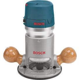 Bosch 1617EVS Router, 120 V, 12 A, 8000 to 25,000 rpm No Load