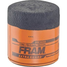 FRAM PH3614 Full-Flow Lube Oil Filter, 3/4- 16 Connection, Threaded, Cellulose, Synthetic Glass Filter Media