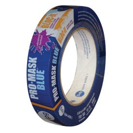 IPG 9533-2 Specialty Masking Tape, 60 yd L, 1.87 in W, 5-1/2 mil Thick, Synthetic Rubber Adhesive, Blue