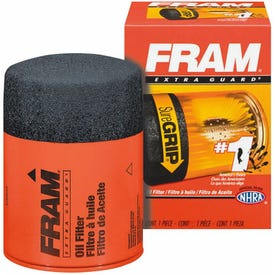 FRAM PH16 Full-Flow Lube Oil Filter, 3/4- 16 Connection, Threaded, Cellulose, Synthetic Glass Filter Media
