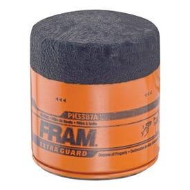 FRAM PH3387A Full-Flow Lube Oil Filter, 18 x 1.5 mm Connection, Threaded, Cellulose, Synthetic Glass Filter Media