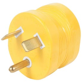 CAMCO 55233 Power Grip Adapter, 15 A Female/30 A Male, 125 V, Male, Female