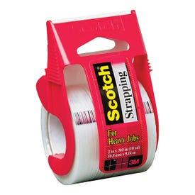 Scotch 350 Strapping Tape, 360 in L, 2 in W