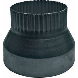 Lambro 251 Vent Reducer, 4 to 3 in Connection, Aluminum