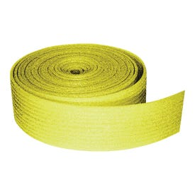 TVM W506 Sill Seal, 3-1/2 in W, 50 ft L Roll, Polyethylene, Yellow