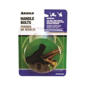 ARNOLD 490-900-0061 T-Handle Knob and Bolt, For: Most Lawn Mowers, Snow Throwers and Other Outdoor Equipment