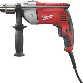 Milwaukee 5376-20 Hammer Drill, 120 V, 8 A, 1/2 in Twist Bit, 1-1/4 in Hole Saw Bit, 5/8 in Concrete Drilling