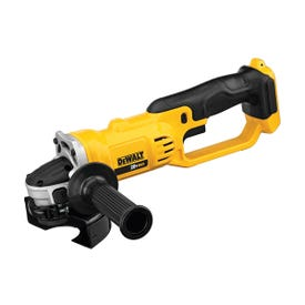 DeWALT DCG412B Angle Grinder, Bare Tool, 20 V Battery, 3 Ah, 5/8 in Spindle, 4-1/2 in Dia Wheel, 8000 rpm Speed