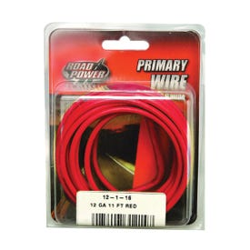 CCI Road Power 55671533/12-1-16 Electrical Wire, 12 AWG, 25 VAC, 60 VDC, Copper Conductor, Red Sheath