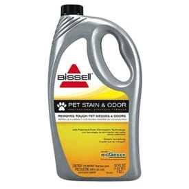 BISSELL 72U81 Carpet Cleaner, 52 oz Bottle, Liquid, Characteristic, Pale Yellow