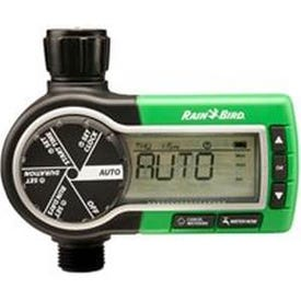Rain Bird 1ZEHTMR Garden Hose Watering Timer, 3 V, 1 -Zone, 1 -Program, 6 hr Cycle, LCD Display, Wall Mounting