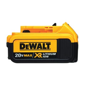 DeWALT Premium XR DCB204 Battery Pack, 20 V Battery, 4 Ah