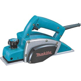Makita KP0800K Planer Kit with Tool Case, 120 V, 6.5 A, 3-1/4 in W Planning, 3/32 in D Planning, 17,000 rpm No Load