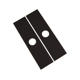 ARNOLD 490-105-0014 Edger Blade Pack, 7-3/4 in L, 2 in W, For: Echo, Stihl and Husqvarna Outdoor Products Blades
