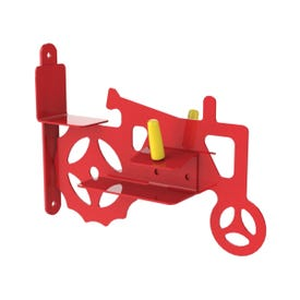 Stokes Select 38055 Corn Cob Feeder, Red, Powder-Coated, Post Mounting
