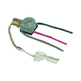 Eaton Wiring Devices BP460-SP-L Canopy Switch with Bell End, Lead Wire Terminal, 3/6 A, 125/250 V