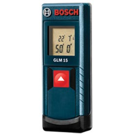 Bosch 6532220 Laser Measure, 50 ft, 1/8 in Accuracy
